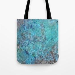 Patina Cast Iron rustic decor Tote Bag