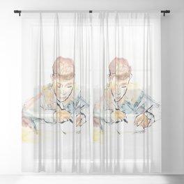 School-boy Sheer Curtain