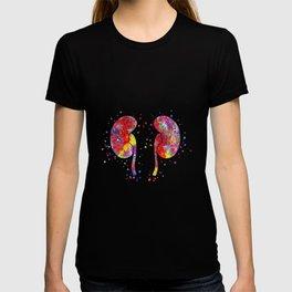 The kidneys anatomy T-shirt