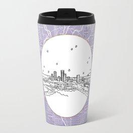Adelaide, Australia City Skyline Illustration Drawing Travel Mug