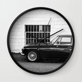 City Car Wall Clock