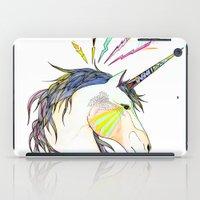 jem iPad Cases featuring Unicorn by Belén Segarra