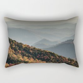 Blue Ridge Autumn Rectangular Pillow