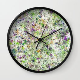 Abstract Artwork Colourful #5 Wall Clock