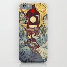 BENEDICTINE LIQUEUR Alphonse Mucha iPhone Case