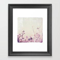 Landscape 1 (red tones) Framed Art Print
