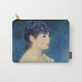 """Auguste Renoir """"Buste de femme de profil"""" Carry-All Pouch"""