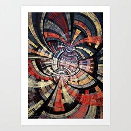 Collideoscope Art Print
