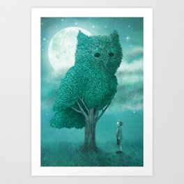The Night Gardener - Cover Art Print