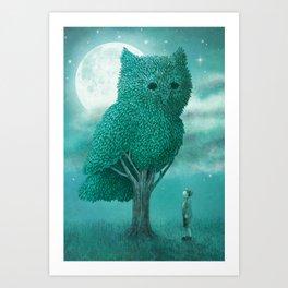 The Night Gardener - Cover Art Print