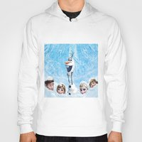olaf Hoodies featuring FROZEN OLAF  by BESTIPHONE5CASESHOP