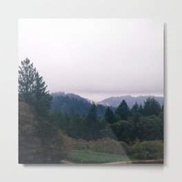 Landscape in Sonoma Metal Print