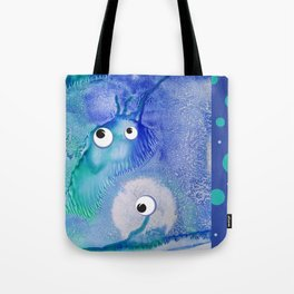 Bubble Monsters Tote Bag