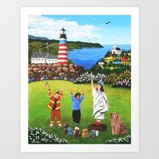 Beacons of Hope Art Print