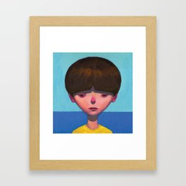 Boy Framed Art Print