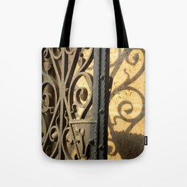 Scroll Gate Tote Bag