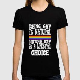 is natural - Gay Pride T-Shirt T-shirt