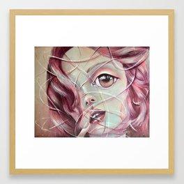 Life lines Framed Art Print