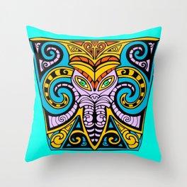 King Squid Throw Pillow