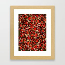 Indian Paintbrushes Framed Art Print