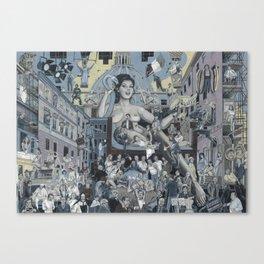 Edwige Canvas Print