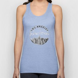 Los Angeles in a glass ball 2  ( https://society6.com/vickonskey/collection ) Unisex Tank Top
