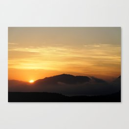 another evening Canvas Print
