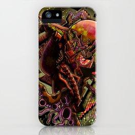 Bi-polar (psychedelic) iPhone Case