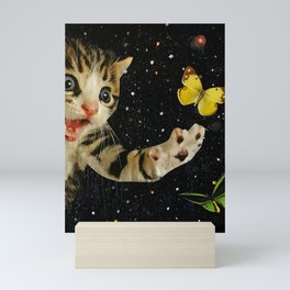 All Across the Universe Chasing Butterflies and Dreams Mini Art Print
