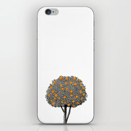 Orange Tree iPhone Skin
