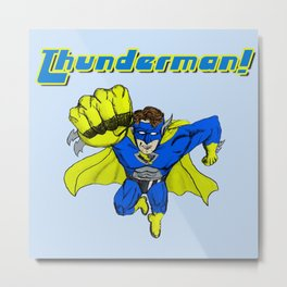 1980s Thunderman! Metal Print