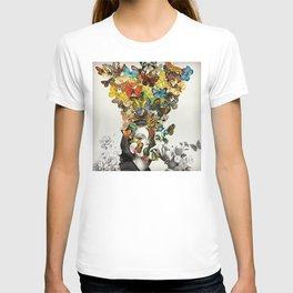Butterfly Woman T-shirt