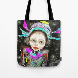 spacegirl Tote Bag