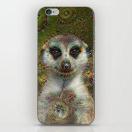Dream Creatures, Meerkat, DeepDream iPhone Skin