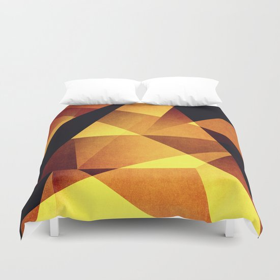 Abstract #95 Duvet Cover