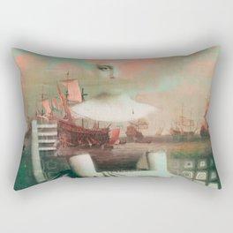 Traveling Dreams Rectangular Pillow