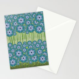Haint - Flower fields H of Alphabet collection Stationery Cards