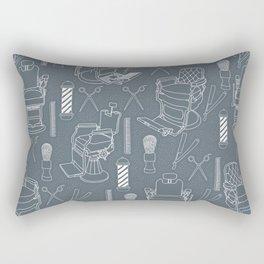 Barber Shop Rectangular Pillow