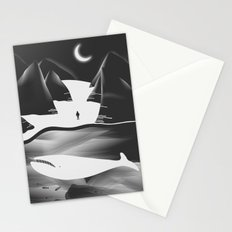 Moon, Boy & The Whale Stationery Cards