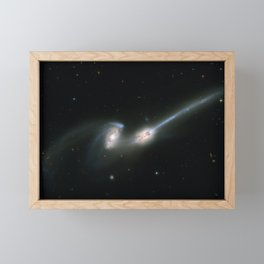 Hubble Space Telescope - The Mice Galaxies / NGC 4676 (ACS Full Field Image) (2002) Framed Mini Art Print
