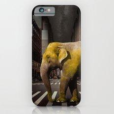 Elephant in New York iPhone 6s Slim Case