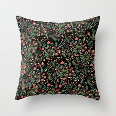 Floral Patern Throw Pillow