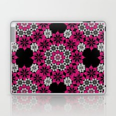 Squiggle pink Laptop & iPad Skin