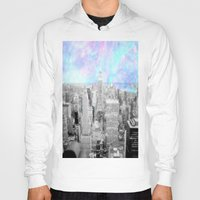 new york city Hoodies featuring New York City. by 2sweet4words Designs