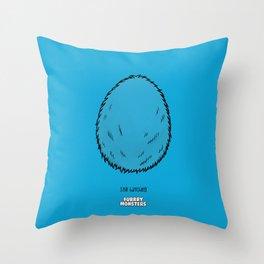Blue Egg Throw Pillow