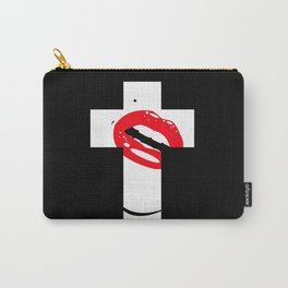 Cross Lips Carry-All Pouch