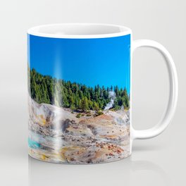 Mount Lassen Bumpass Hell Geothermal Site Coffee Mug