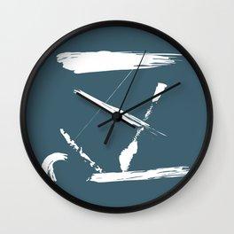 Flotsam and Jetsam Wall Clock