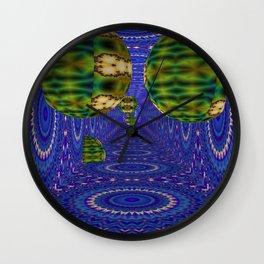 Creeping In Balls 3 Wall Clock