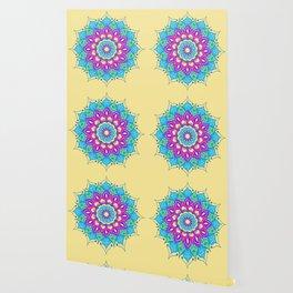 Bright and Beautiful Mandala Wallpaper